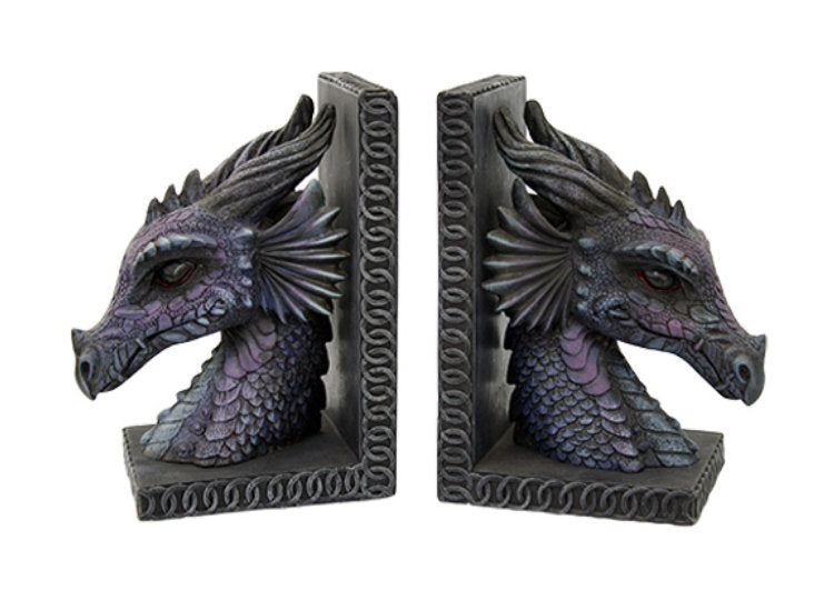 Dragon Head Bookends - Jps Bears