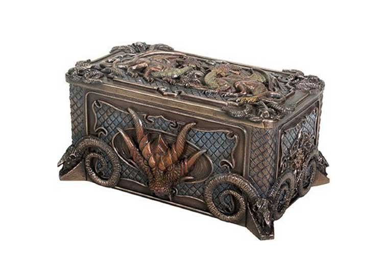 Dragon Jewelry Box - Jps Bears