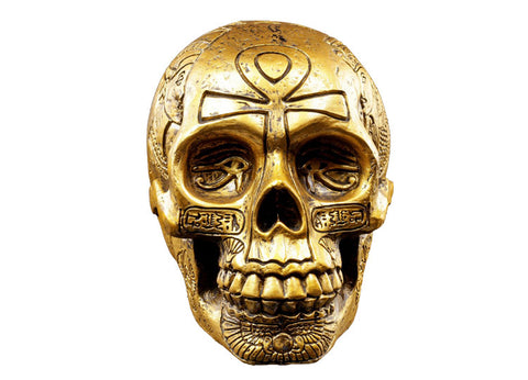 Egyptian Skull - Gold - Jps Bears