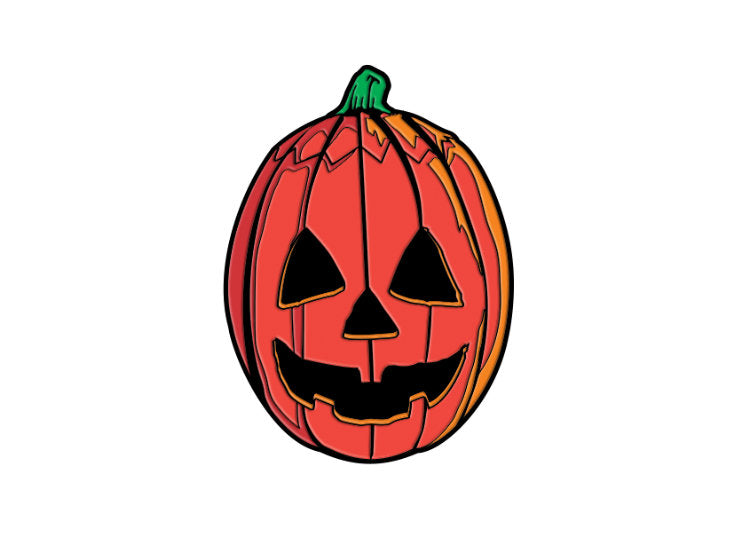 Pumpkin Mask – Halloween III Enamel Pin - Jps Bears