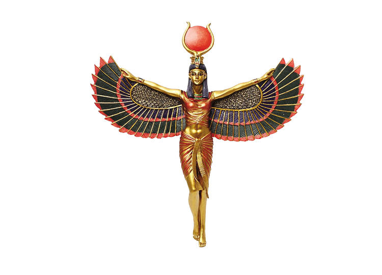 Winged Isis Plaque - Jps Bears