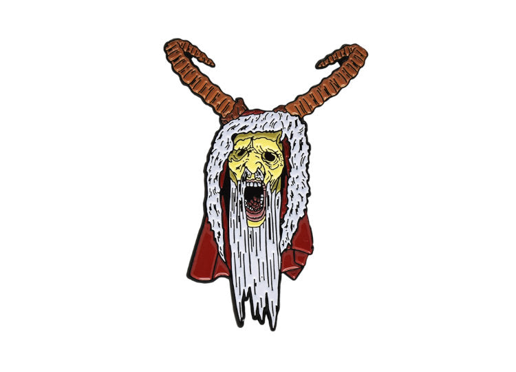 Krampus Enamel Pin - Jps Bears