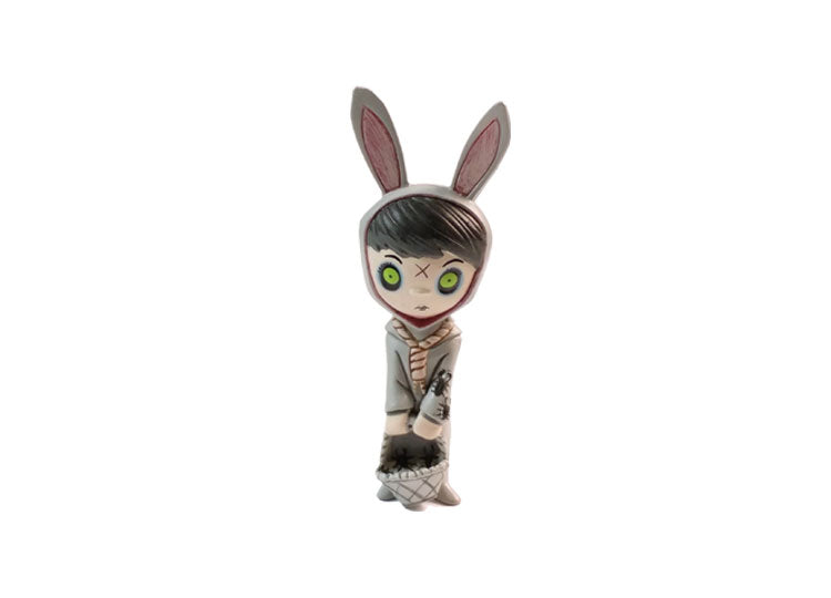 Living Dead Dolls Resurrection Series 1 Blind Box Mini Figure – Eggzorcist Grey