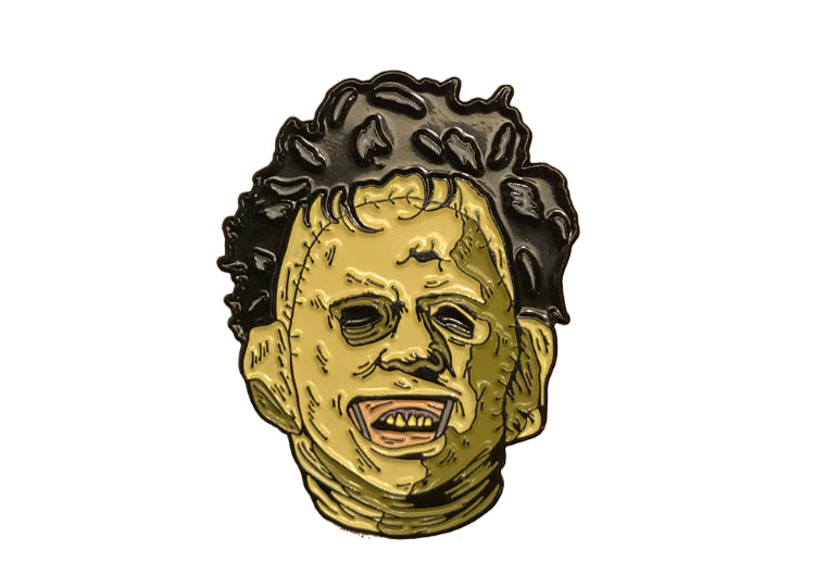 Leatherface – The Texas Chainsaw Enamel Pin