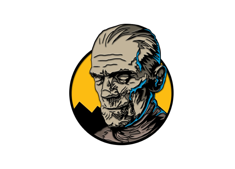 Imhotep The Mummy – Universal Classic Monster Enamel Pin