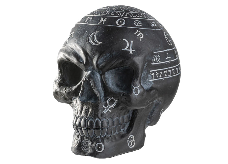 Mystical Arts Black Skull