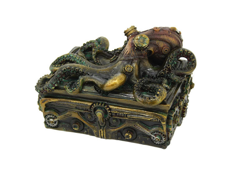 Steampunk Octopus Box - Jps Bears