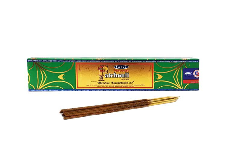 Satya Patchouli Incense – 15 Gram Pack