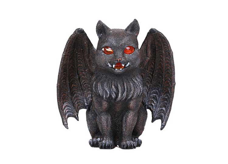 Cat Gargoyle Candleholder – Red Eyes - Jps Bears