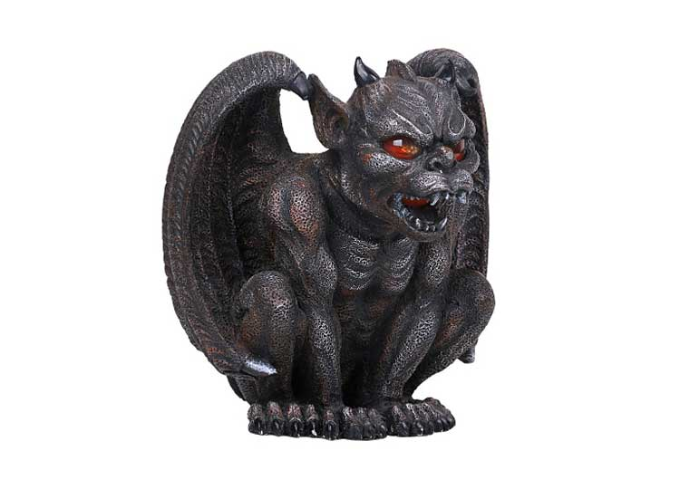 Gargoyle Candleholder – Red Eyes - Jps Bears