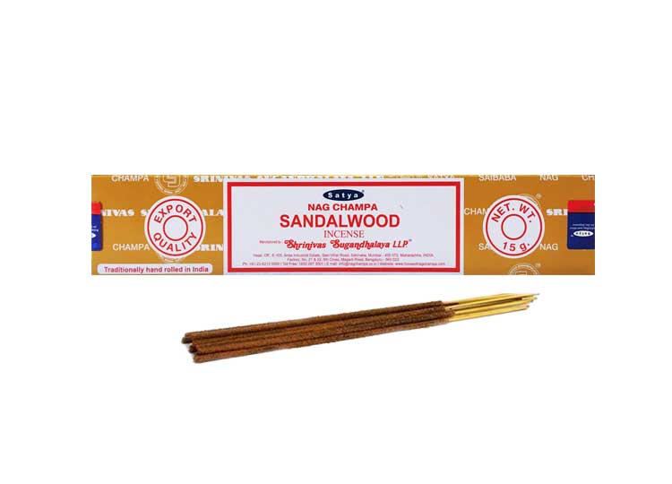 Satya Sandalwood Incense – 15 Gram Pack