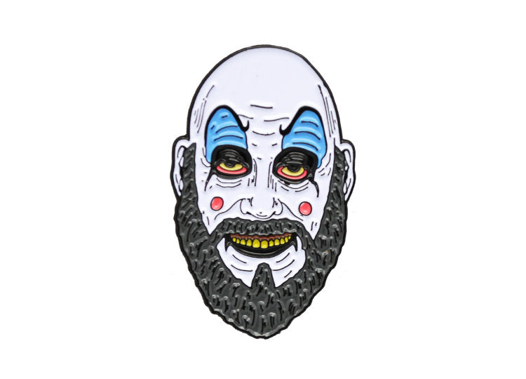 Captain Spaulding - House of 1000 Corpses Enamel Pin - Jps Bears