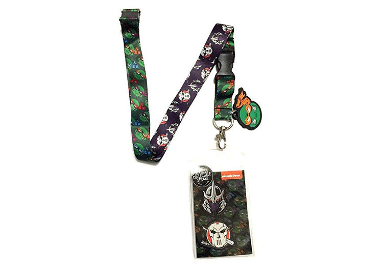 Teenage Mutant Ninja Turtles Lanyard