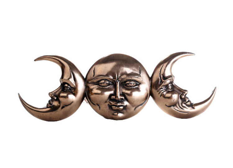 Triple Moon Plaque