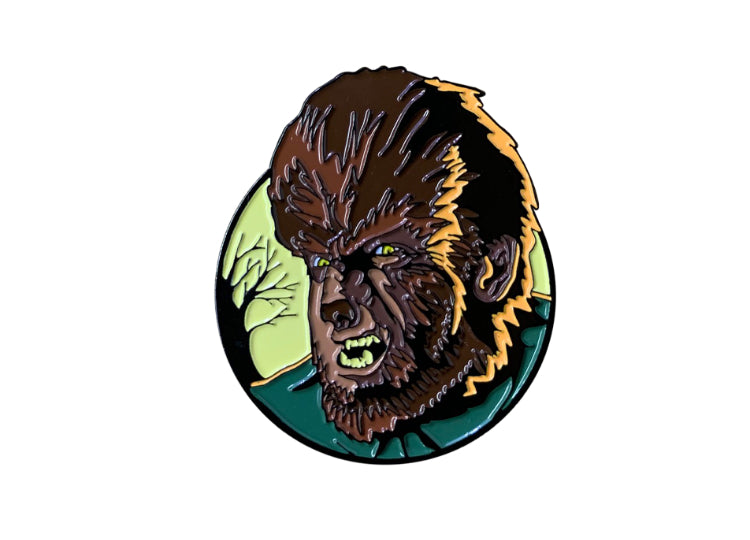 The Wolf Man – Universal Classic Monster Enamel Pin