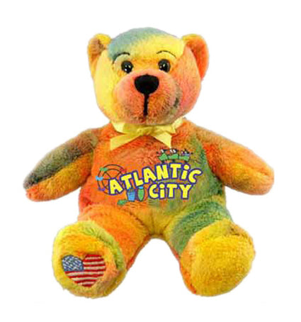 Atlantic City Bear Multicolor - Jps Bears