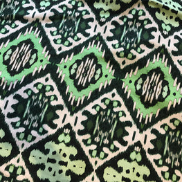 Indigenous Ikat (Emerald Greens)
