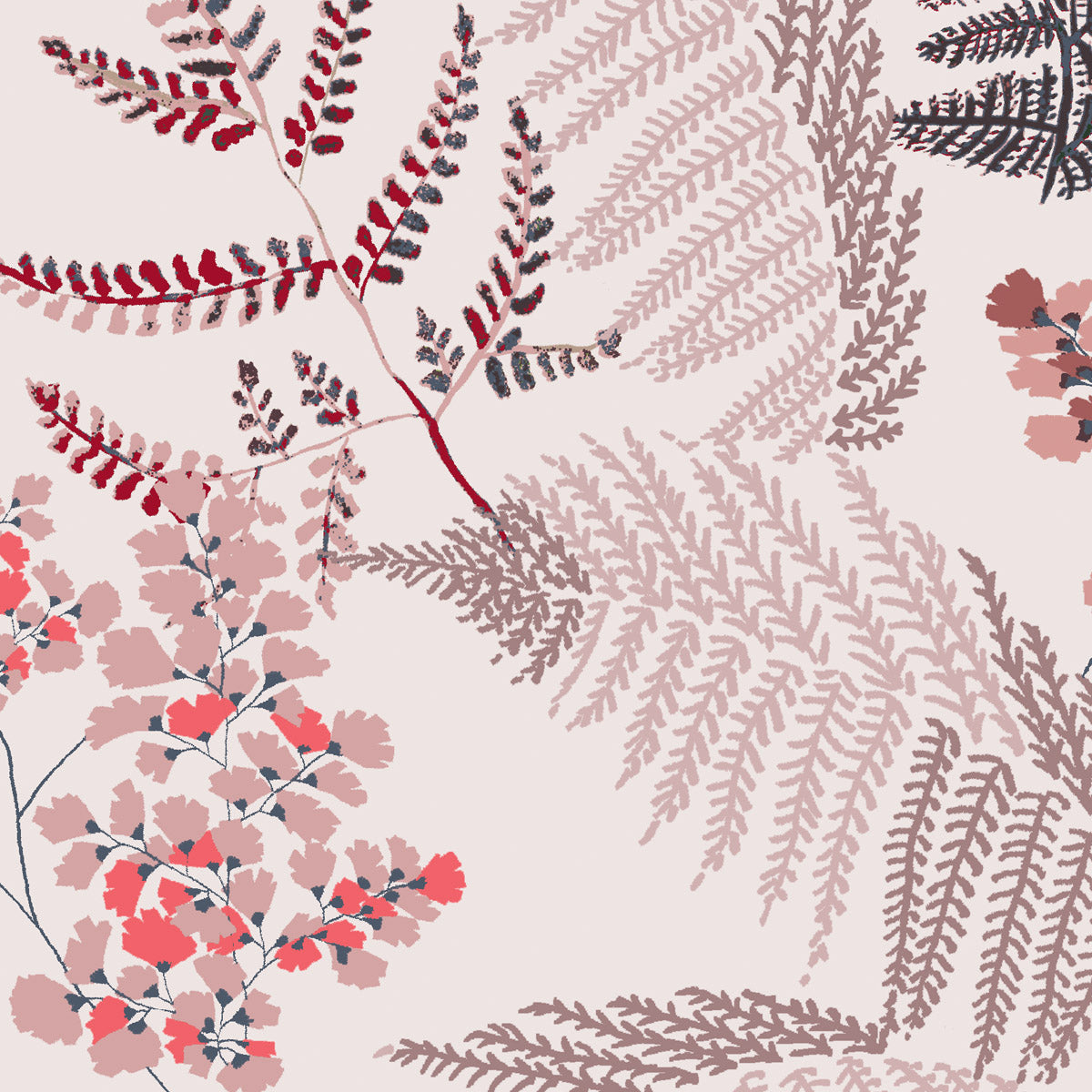 Lace Ferns (Spring Rose)