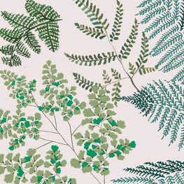 Lace Ferns (Spring Green)