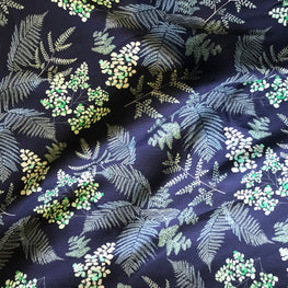 Lace Ferns (Midnight blue)