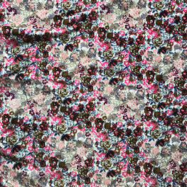 Ditsy Floral (Brilliant Pink)