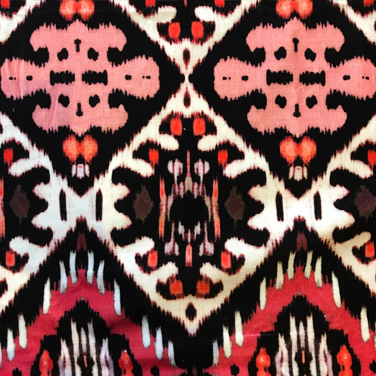 Indigenous Ikat (Brilliant Pink)