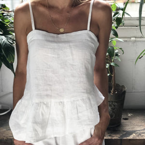 HARLOW TOP | WHITE