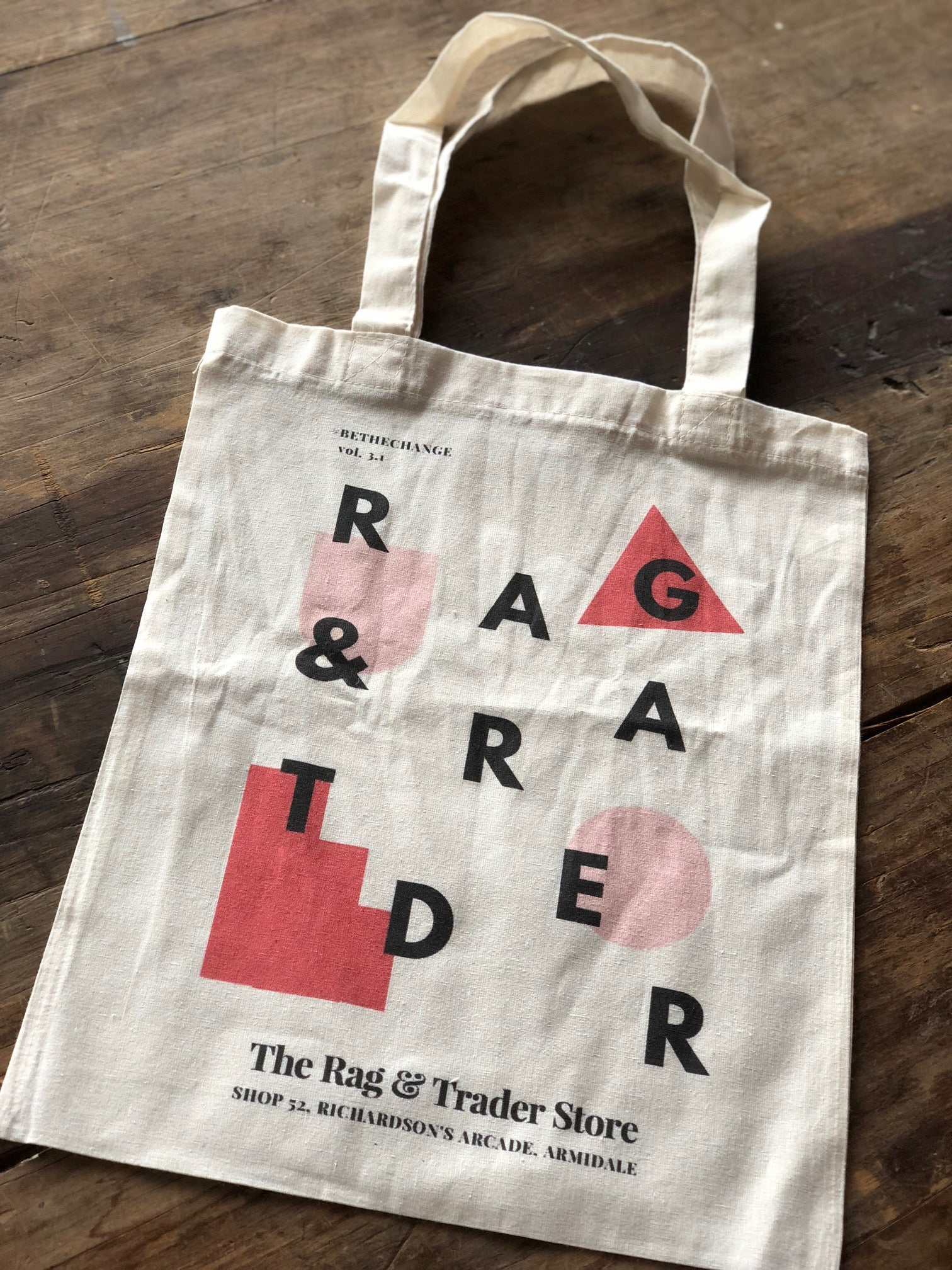 RAG & TRADER BE THE CHANGE TOTE #2