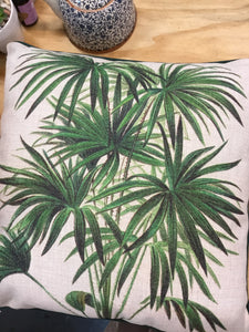 Linen palm pillow