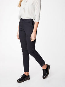 DARLI SLIM LEG ORGANIC COTTON TROUSERS