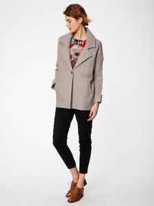 LACHLAN RELAXED FIT COAT