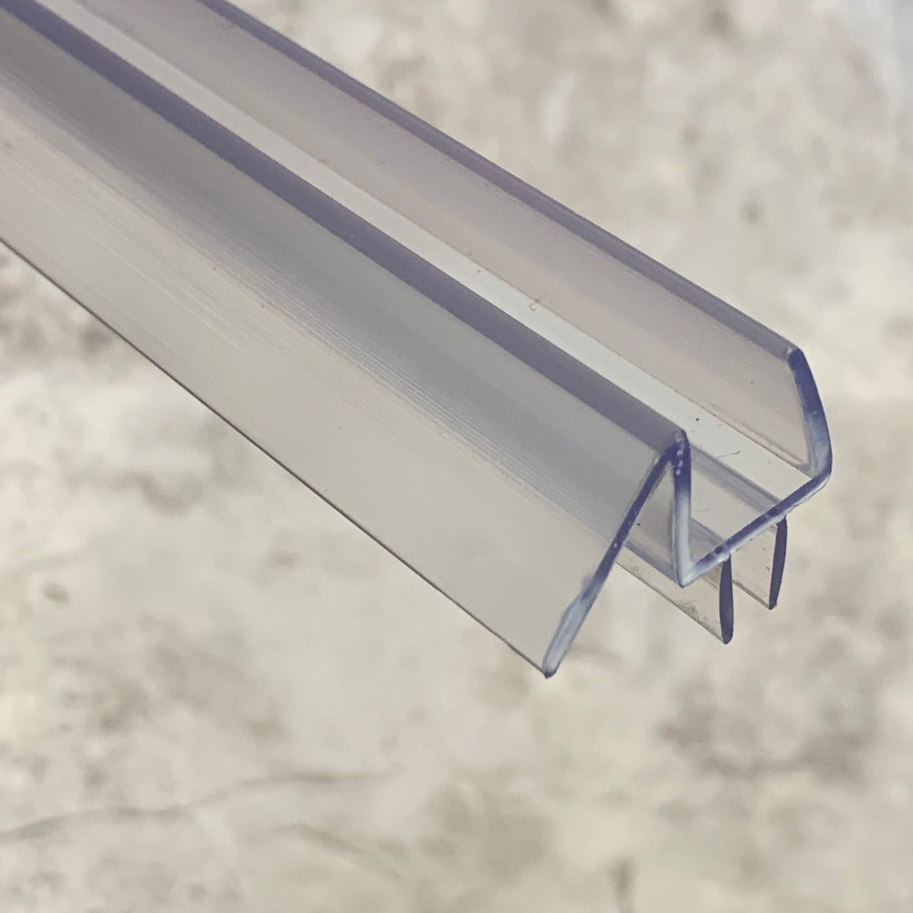 Clear Poly-carbonate Bottom Sweep for Frameless Shower Doors