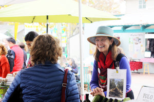 Meet the Maker, Dianne Madison, Yolo Press, Olive Oil, Davis Farmers Market