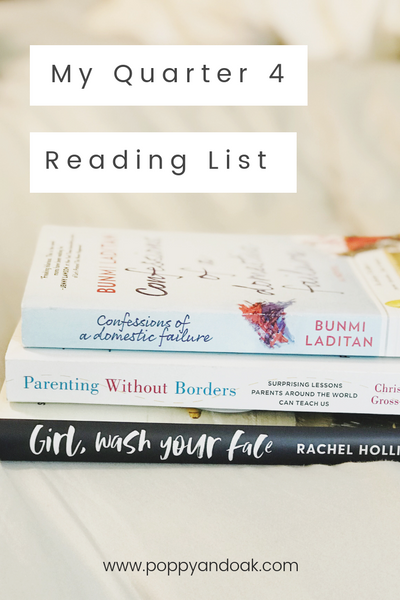 Fall/Winter Reading List