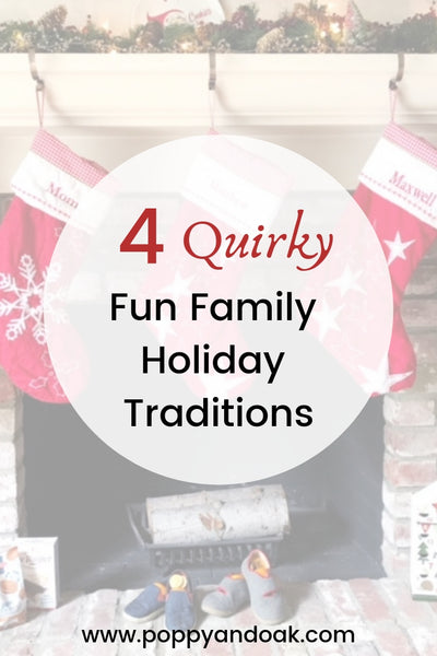 Four Quirky Fun Family Christmas Traditions