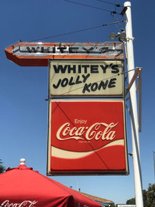 A Favorite Summer Treat: The Peach Milkshake at Whitey's Jolly Kone