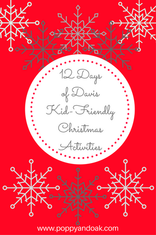 Davis Sacramento Christmas Activities with Kids