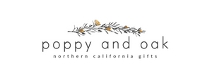 Poppy and oak, Northern California gifts, gift boxes, Yolo County, gifts
