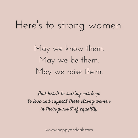 Here's to Strong Women on International Women's Day