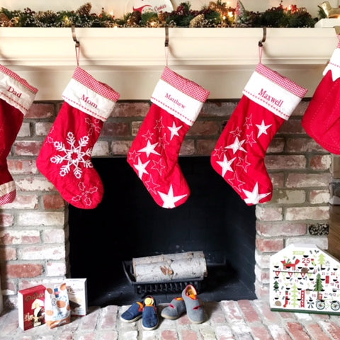 Christmas Traditions Santa Stockings