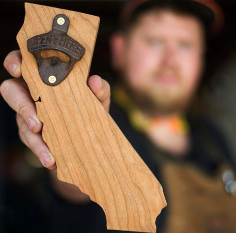 Newton Booth Builds Stately Bottle Opener