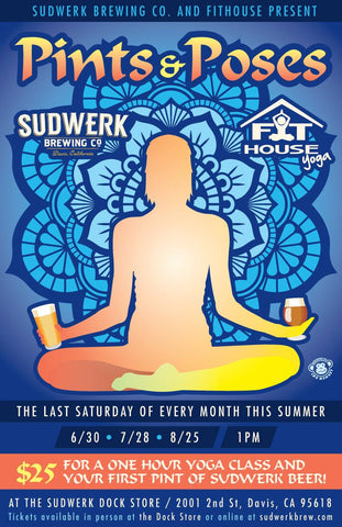 Pints and Poses with Sudwerk and Fit House in Davis