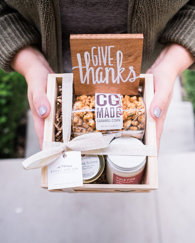 Fall seasonal Harvest Gift Box