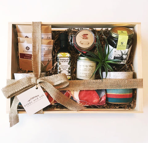 Poppy and Oak Custom Housewarming Gift Box