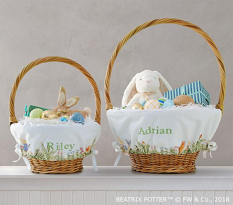 Pottery Barn Customized Easter Basket Liners