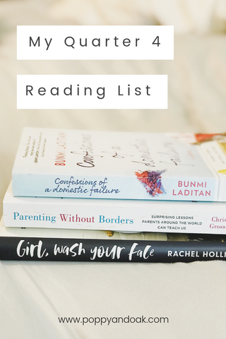 Quarter 4 Reading List Book Club