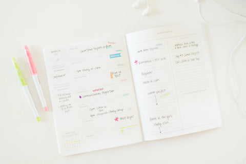 She Plans Daily and Weekly Notebook Planners