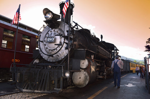 Old Sacramento Steam Train Polar Express Christmas Visit with Santa