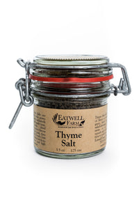 Flavored salt chili thyme from Eatwell Farm