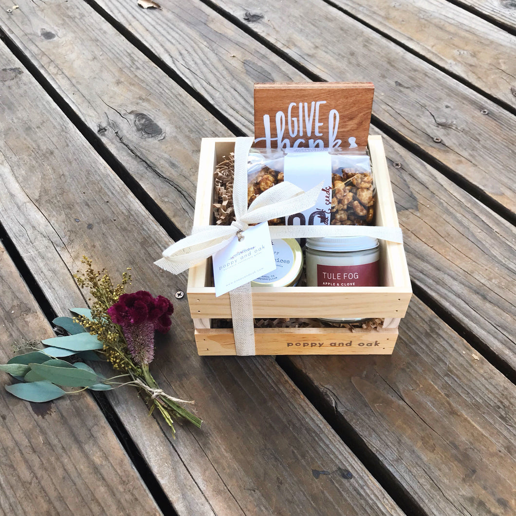 Harvest Box {Fall Seasonal Box}